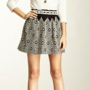 Free People Alexus Embroidered Skirt- Size 12
